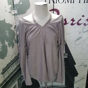Love Riche Sueded Blouse NWT Size S